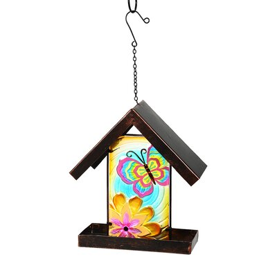 Floating Butterfly Glow in the Dark Birdfeeder 2BF671