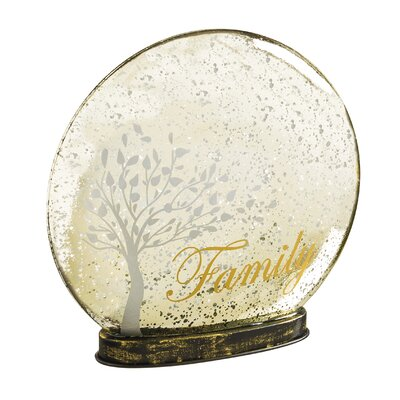 Family Indoor LED Glass Globe