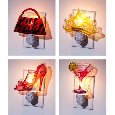 4 Piece Diva Night Light Set