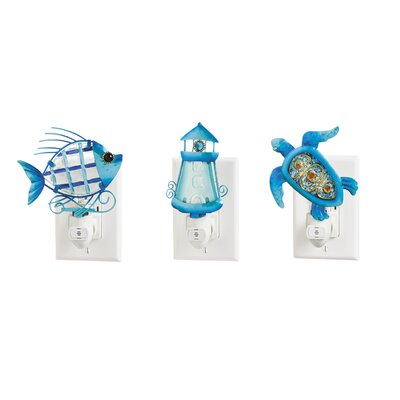 3 Piece Ocean Night Light Set