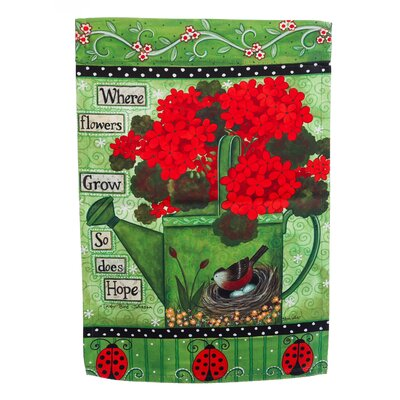 When Flowers Grow Garden Flag 14S3795