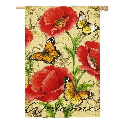 Altoga Bright Florals Vertical Flag RDBL5658 38374014