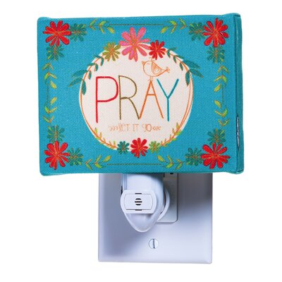 Pray Canvas Night Light