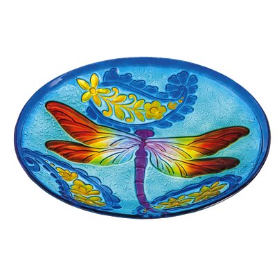 Dragonfly Kaleidescope Birdbath 2GB522