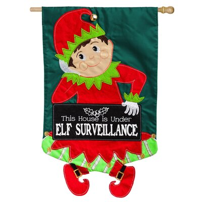 Elf Surveillance Regular Applique Vertical Flag 158569BL