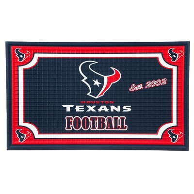 NFL Embossed Doormat NFL Team: Houston Texans