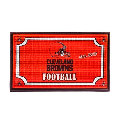 NFL Embossed Doormat NFL Team: Cleveland Browns