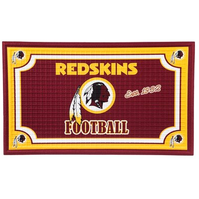 NFL Embossed Doormat NFL Team: Washington Redskins