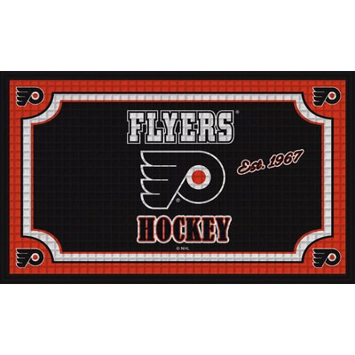 NHL Embossed Doormat NHL Team: Philadelphia Flyers