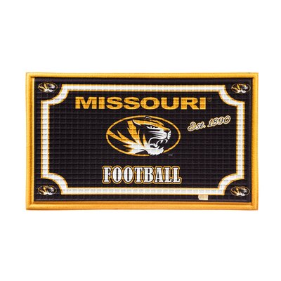 NCAA Embossed Doormat NCAA Team: University of Missouri