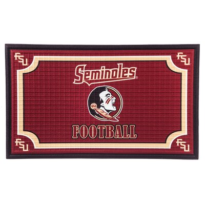 NCAA Embossed Doormat NCAA Team: Florida State University