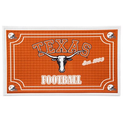 NCAA Embossed Doormat NCAA Team: University of Texas