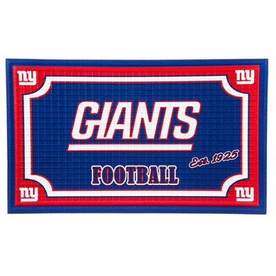 NFL Embossed Doormat NFL Team: New York Giants