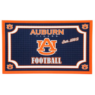 NCAA Embossed Doormat NCAA Team: Auburn University