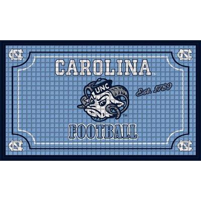 NCAA Embossed Doormat NCAA Team: University of North Carolina