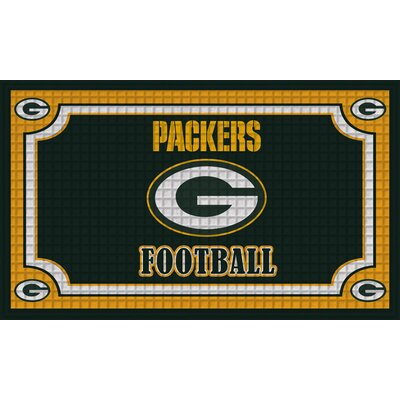 NFL Embossed Doormat NFL Team: Green Bay Packers