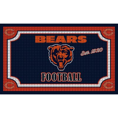 NFL Embossed Doormat NFL Team: Chicago Bears