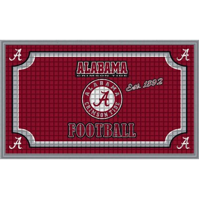 NCAA Embossed Doormat NCAA Team: University of Alabama