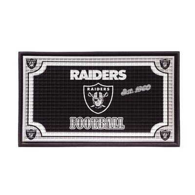 NFL Embossed Doormat NFL Team: Oakland Raiders