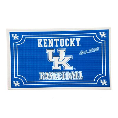 NCAA Embossed Doormat NCAA Team: University of Kentucky