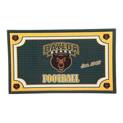 NCAA Embossed Doormat NCAA Team: Baylor University