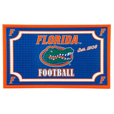 NCAA Embossed Doormat NCAA Team: University of Florida