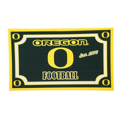 NCAA Embossed Doormat NCAA Team: University of Oregon
