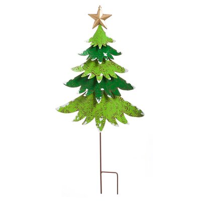 Christmas Tree Garden Stake