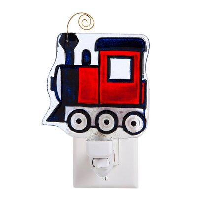 Train Glass Night Light