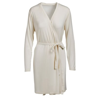 Rayon from Bamboo Bathrobe Color: Cream