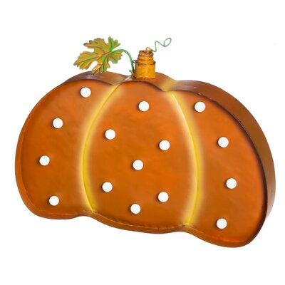 Pumpkin Marquee Wall Decor
