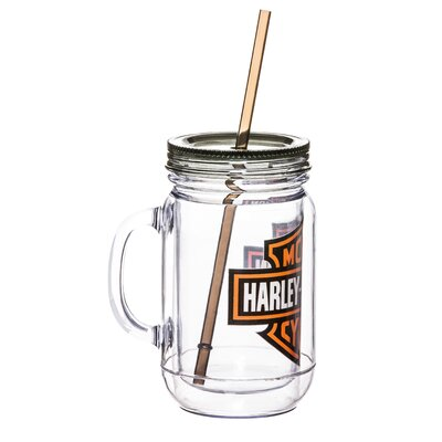Harley-Davidson� 20 oz. Mason Jar Cup 2AJ4900