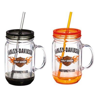 Harley-Davidson 18 oz. Mason Jar Cup P24084901