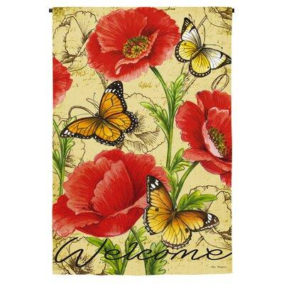 Bright Florals Garden Flag 14S3627