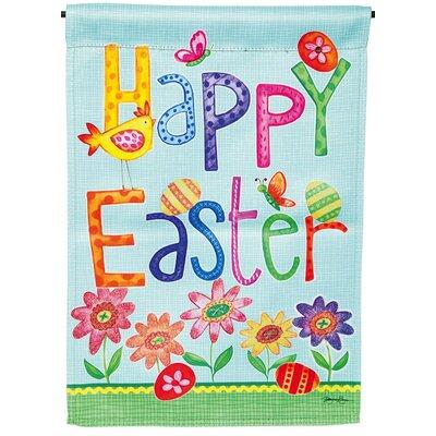 Happy Easter Garden Flag 14S3610BL