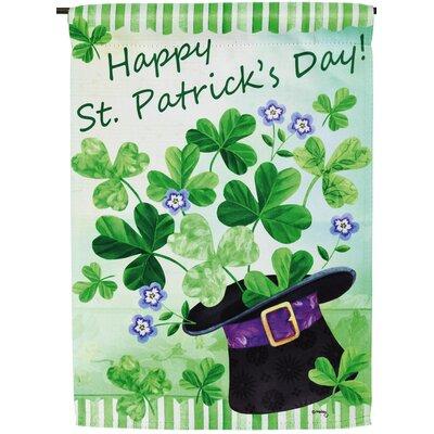 Happy St Patricks Day Garden Flag