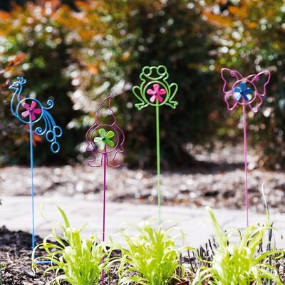 12 Piece CDU Playful Garden Spinner Stake Set 491326