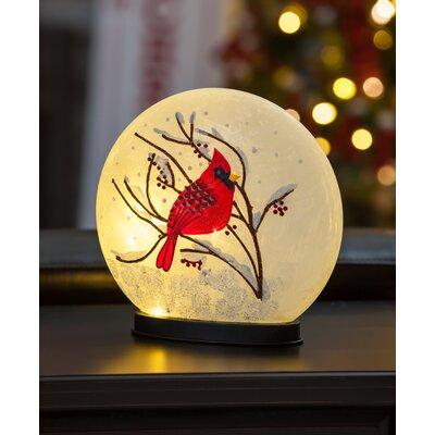Glass Cardinal LED Globe AGTG2314 42282215