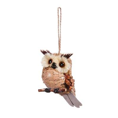 Sisal Owl Hanging Figurine