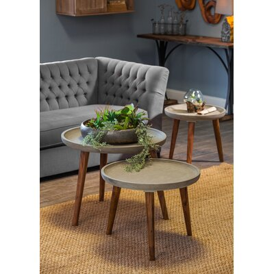Nelya 3 Piece End Table Set
