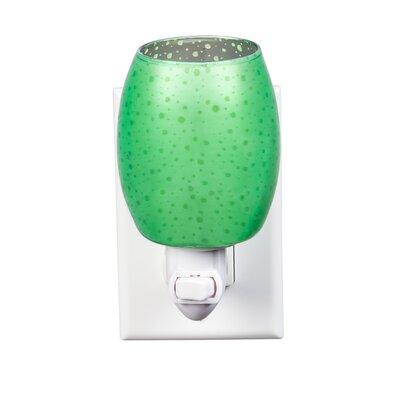 Stargazer Glass Night Light Color: Green