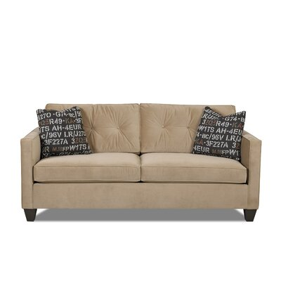Monroe Sofa Pillow Color: Midnight