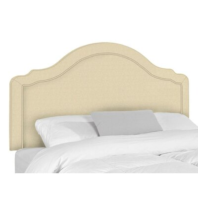 Mill Upholstered Panel Headboard Size: Twin, Upholstery: Lima Natural