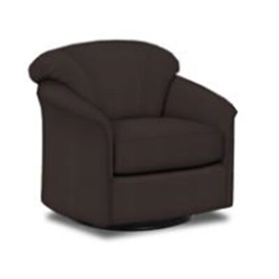 Exeter Barrel Chair Upholstery: Chocolate Microfiber