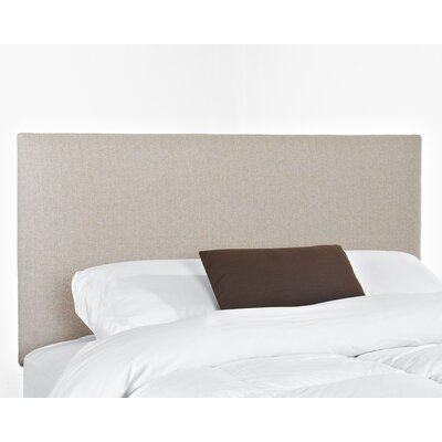 Killarney Upholstered Panel Headboard Size: King
