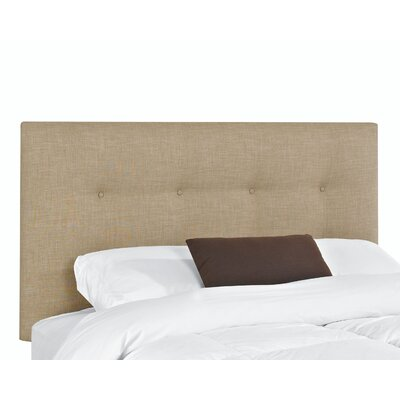 Belfast Upholstered Panel Headboard Upholstery: Linen, Size: King