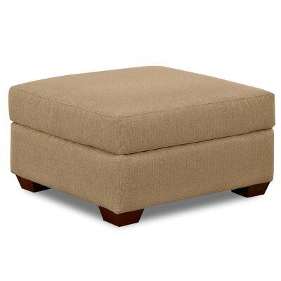 Hobbs Ottoman Upholstery: Brown