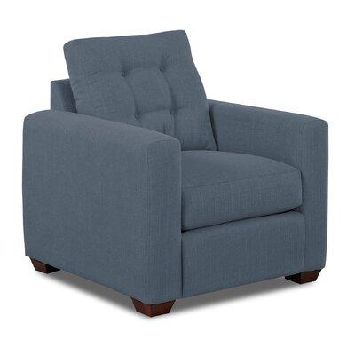 Hobbs Armchair Upholstery: Blue
