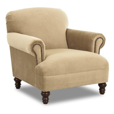 Bailey Armchair Upholstery: Belsire Coffee