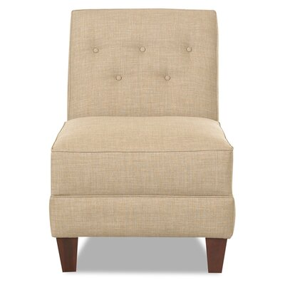 Bellamy Armless Slipper Chair Upholstery: Cream